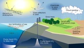 Geo engineering sebagai bentuk upaya mitigasi perubahaniklim